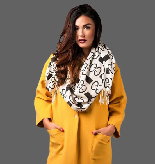 Модное пальто oversize